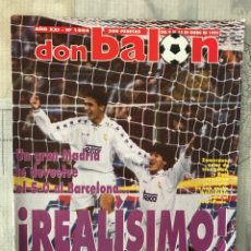 Coleccionismo deportivo: FÚTBOL DON BALÓN 1004 - POSTER ESPANYOL - 5-0 MADRID VS BARÇA - SARRIÀ - ATHLETIC - ALKORTA. Lote 235231940