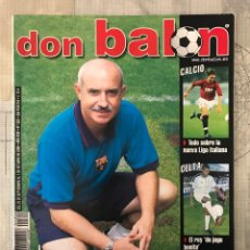 Coleccionismo deportivo: FÚTBOL DON BALÓN 1302 - POSTER OSASUNA - BARCELONA - CALCIO ITALIA - ESPAÑA - COPAS EUROPEAS. Lote 235238950