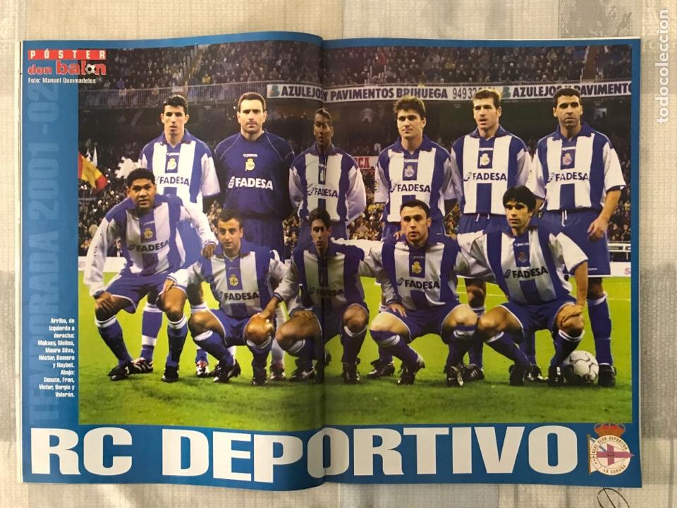 Coleccionismo deportivo: Fútbol don balón 1370 - Poster Deportivo - Gaspart - Valencia - Mundial Korea Japón 2002 - Madrid - Foto 3 - 235240420