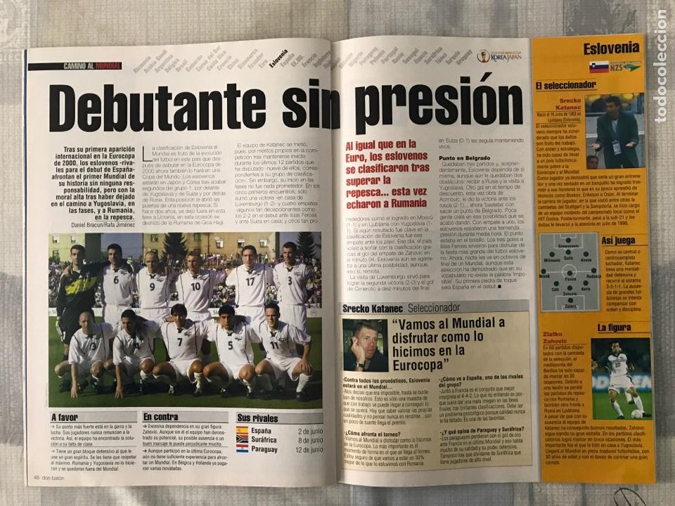Coleccionismo deportivo: Fútbol don balón 1370 - Poster Deportivo - Gaspart - Valencia - Mundial Korea Japón 2002 - Madrid - Foto 4 - 235240420