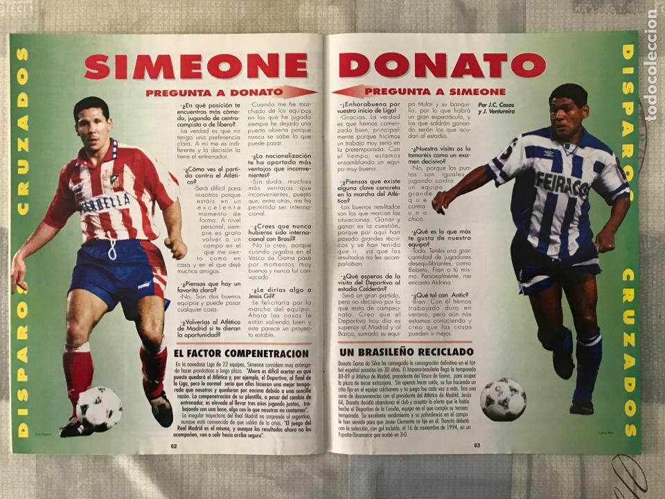Coleccionismo deportivo: Fútbol don balón 1043 - Poster Buyo - Alfonso - Oviedo - Simeone - Donato - Foto 2 - 235241490