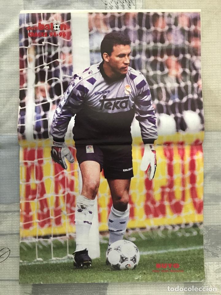 Coleccionismo deportivo: Fútbol don balón 1043 - Poster Buyo - Alfonso - Oviedo - Simeone - Donato - Foto 3 - 235241490