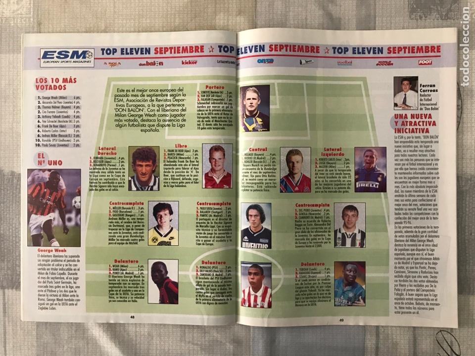 Coleccionismo deportivo: Fútbol don balón 1043 - Poster Buyo - Alfonso - Oviedo - Simeone - Donato - Foto 5 - 235241490