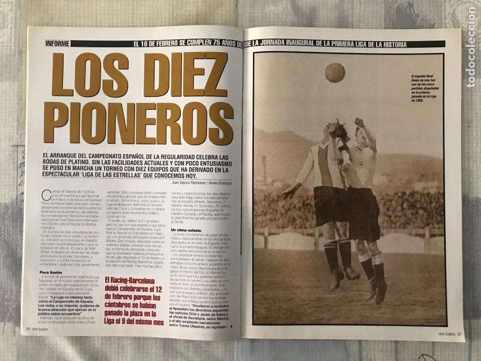 Coleccionismo deportivo: Fútbol don balón 1478 - Barcelona - Poster Murcia - Valdano - Pioneros de la liga - Getafe - Foto 2 - 235242635