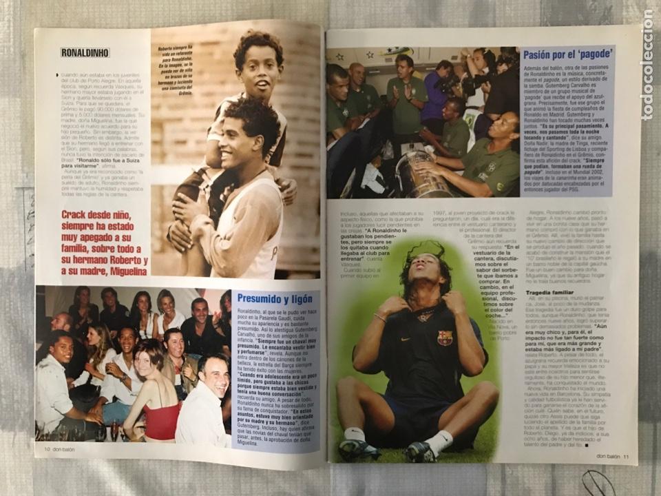 Coleccionismo deportivo: Fútbol don balón 1478 - Barcelona - Poster Murcia - Valdano - Pioneros de la liga - Getafe - Foto 4 - 235242635