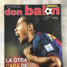 Coleccionismo deportivo: FÚTBOL DON BALÓN 1478 - BARCELONA - POSTER MURCIA - VALDANO - PIONEROS DE LA LIGA - GETAFE. Lote 235242635