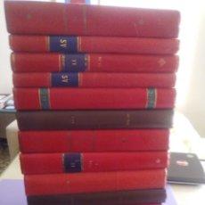 Coleccionismo deportivo: MARAVILLOSO LOTE 278 REVISTAS AS COLOR. ENCUADERNADAS EN 14 TOMOS. ENTRE 1971 Y 1981.. Lote 235366455