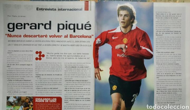 Coleccionismo deportivo: DON BALON 1527 - 17/23 ENERO 2005 - ESPANYOL- PIQUÉ- POSTER ATH.BILBAO 2004-05 - Foto 2 - 235367655