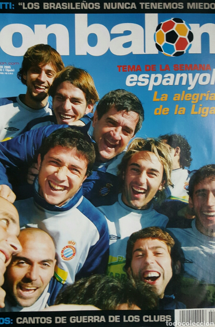 DON BALON 1527 - 17/23 ENERO 2005 - ESPANYOL- PIQUÉ- POSTER ATH.BILBAO 2004-05 (Coleccionismo Deportivo - Revistas y Periódicos - Don Balón)