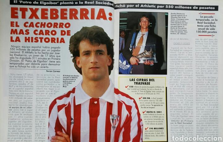 Coleccionismo deportivo: DON BALON 1031 - 17/23 JULIO 1995 - VIOLA- ETXEBERRIA- ZAGALO- ESTEBAN TORRE- ZABALZA- FIGO - Foto 3 - 235369250
