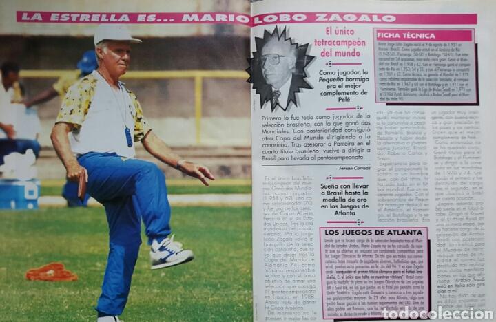 Coleccionismo deportivo: DON BALON 1031 - 17/23 JULIO 1995 - VIOLA- ETXEBERRIA- ZAGALO- ESTEBAN TORRE- ZABALZA- FIGO - Foto 4 - 235369250