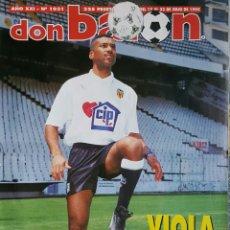 Coleccionismo deportivo: DON BALON 1031 - 17/23 JULIO 1995 - VIOLA- ETXEBERRIA- ZAGALO- ESTEBAN TORRE- ZABALZA- FIGO. Lote 235369250