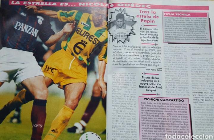 Coleccionismo deportivo: DON BALON 1008 - 6/12 FEBRERO 1995 - CRUYFF/STOICHKOV- ALFONSO-DUMITRESCU- TONI- POSTER CD TENERIFE - Foto 4 - 235371110