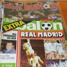 Coleccionismo deportivo: 30 REVISTAS EXTRAS DON BALON. AÑOS 70 Y 80... LOTE SELECTO. Lote 235387060