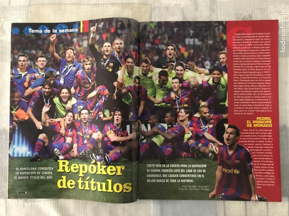 Coleccionismo deportivo: Fútbol don balón 1767 - Messi Barça - Higuaín - Poster Ibrahimovic - Champions - Santa Cruz maradons - Foto 2 - 235415940