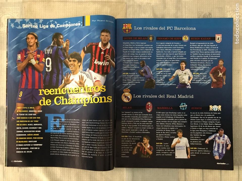 Coleccionismo deportivo: Fútbol don balón 1767 - Messi Barça - Higuaín - Poster Ibrahimovic - Champions - Santa Cruz maradons - Foto 3 - 235415940