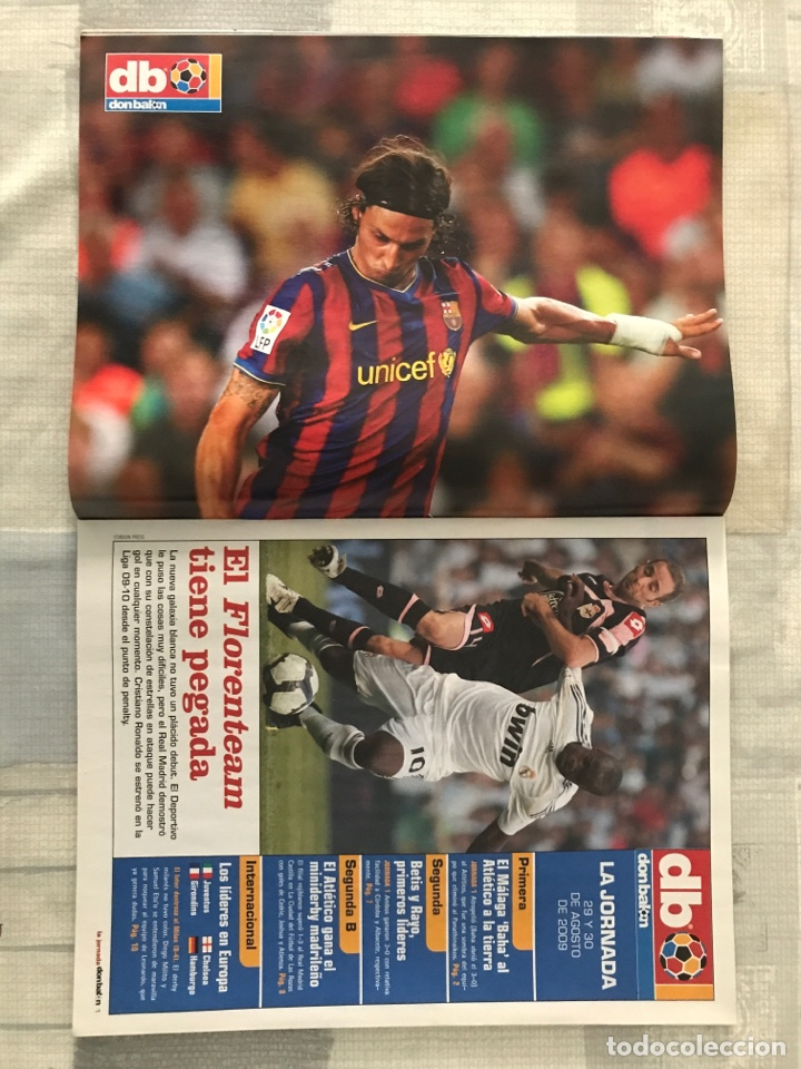 Coleccionismo deportivo: Fútbol don balón 1767 - Messi Barça - Higuaín - Poster Ibrahimovic - Champions - Santa Cruz maradons - Foto 5 - 235415940