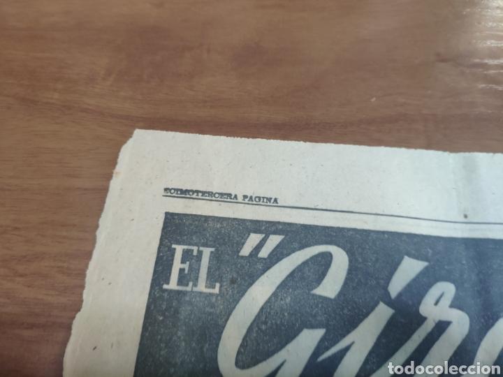 Coleccionismo deportivo: Antigua hoja periódico el mundo deportivo 1962 giro de Italia Pérez francés publicidad festina - Foto 2 - 235484680