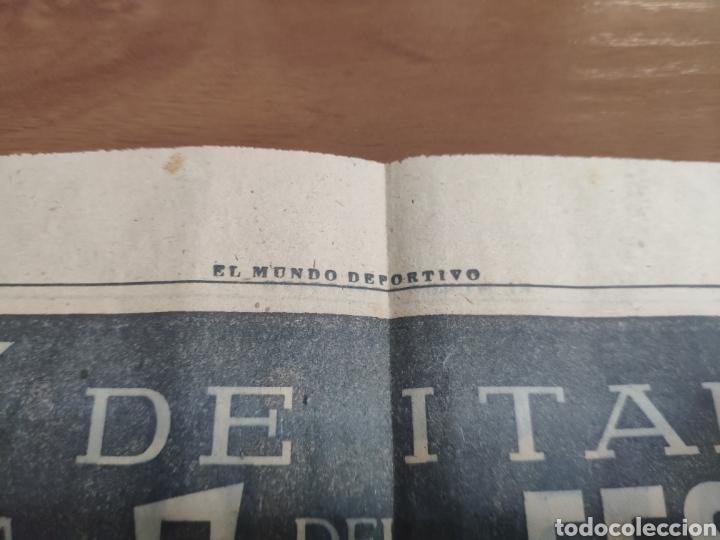 Coleccionismo deportivo: Antigua hoja periódico el mundo deportivo 1962 giro de Italia Pérez francés publicidad festina - Foto 4 - 235484680
