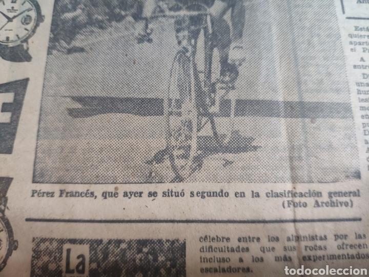 Coleccionismo deportivo: Antigua hoja periódico el mundo deportivo 1962 giro de Italia Pérez francés publicidad festina - Foto 6 - 235484680