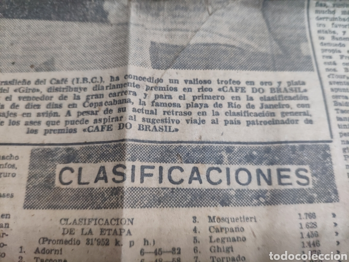Coleccionismo deportivo: Antigua hoja periódico el mundo deportivo 1962 giro de Italia Pérez francés publicidad festina - Foto 7 - 235484680