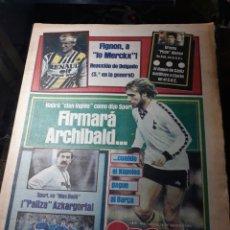 Coleccionismo deportivo: DIARIO SPORT N° 1678 . 18 JULIO 1984- FIRMARÁ ARCHIBALB... . QUINI , UNA JUBILACIÓN ANTICIPADA.. Lote 235531080