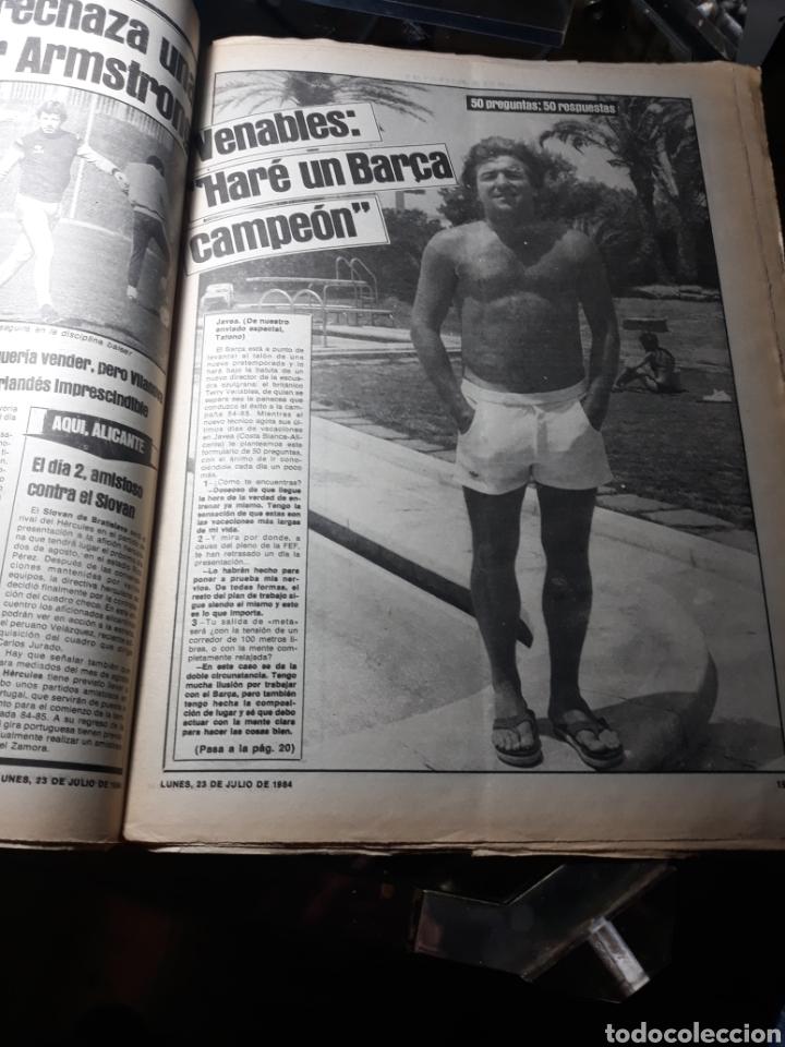 Coleccionismo deportivo: DIARIO SPORT N°1883 . 23 JULIO .1984 . ARCHIBALD. VENABLES . SEVE VENCIO OPEN BRITÁNICO.FIGNON TOUR - Foto 4 - 235581080