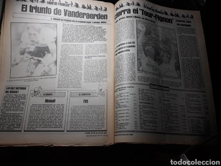 Coleccionismo deportivo: DIARIO SPORT N°1883 . 23 JULIO .1984 . ARCHIBALD. VENABLES . SEVE VENCIO OPEN BRITÁNICO.FIGNON TOUR - Foto 7 - 235581080