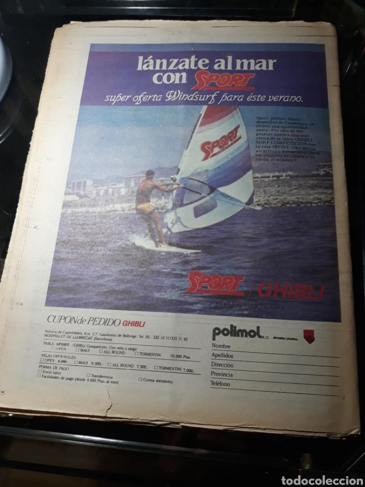 Coleccionismo deportivo: DIARIO SPORT N°1883 . 23 JULIO .1984 . ARCHIBALD. VENABLES . SEVE VENCIO OPEN BRITÁNICO.FIGNON TOUR - Foto 9 - 235581080