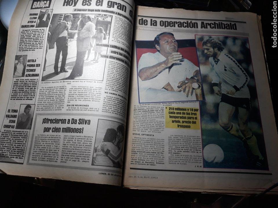 Coleccionismo deportivo: DIARIO SPORT N°1883 . 23 JULIO .1984 . ARCHIBALD. VENABLES . SEVE VENCIO OPEN BRITÁNICO.FIGNON TOUR - Foto 2 - 235581080