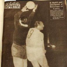 Coleccionismo deportivo: TOMO ENCUADERNADO VIDA DEPORTIVA CON 41 PERIODICOS - 1959 1960. Lote 235641695