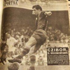 Coleccionismo deportivo: TOMO ENCUADERNADO VIDA DEPORTIVA CON 43 PERIODICOS - 1958 1959. Lote 235643950