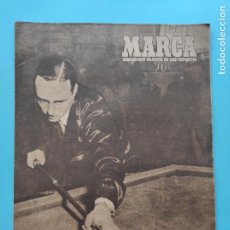Coleccionismo deportivo: PERIODICO MARCA 1947 JORNADA 2 LIGA 47/48 - OVIEDO - SEVILLA - ATLETICO 8-0 SABADELL - MESTALLA. Lote 235658415