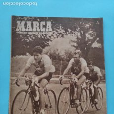 Coleccionismo deportivo: PERIODICO MARCA 1947 JORNADA 3 LIGA 47/48 - NASTIC - ATHLETIC - SEVILLA - SABADELL - NATACION. Lote 235661395