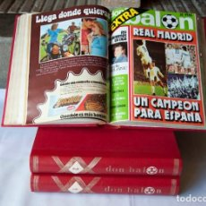 """Coleccionismo deportivo: REVISTAS """" DON BALON """" AÑO 1 Y 2. Lote 235669515"""