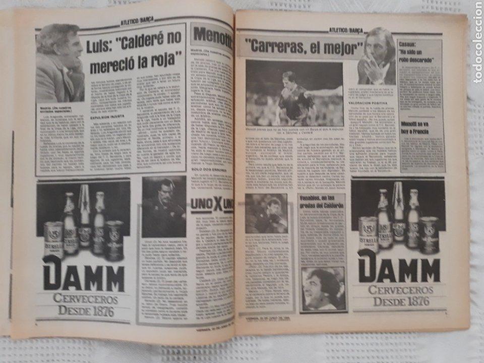 Coleccionismo deportivo: DIARIO SPORT N°1652 .22 JUNIO 1984 . AT. MADRID 2 BARCA 1 OTRO ROBO .ESPAÑA DE FIESTA . EUROCOPA.84 - Foto 3 - 235674960