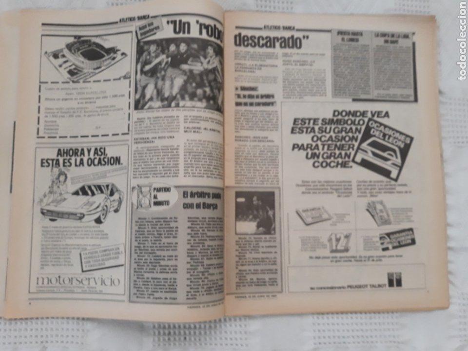 Coleccionismo deportivo: DIARIO SPORT N°1652 .22 JUNIO 1984 . AT. MADRID 2 BARCA 1 OTRO ROBO .ESPAÑA DE FIESTA . EUROCOPA.84 - Foto 4 - 235674960