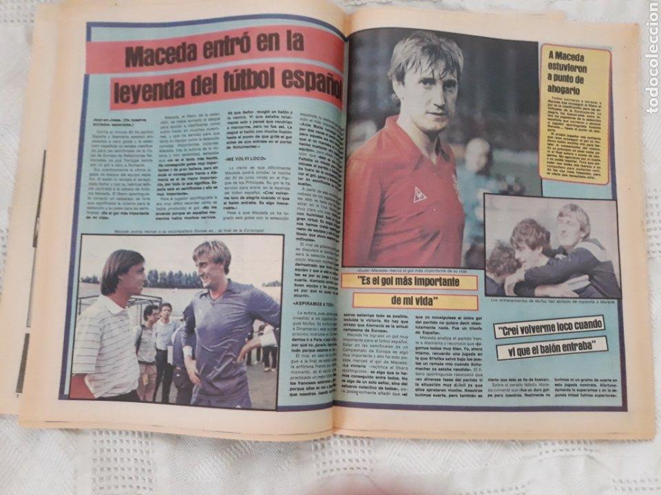 Coleccionismo deportivo: DIARIO SPORT N°1652 .22 JUNIO 1984 . AT. MADRID 2 BARCA 1 OTRO ROBO .ESPAÑA DE FIESTA . EUROCOPA.84 - Foto 8 - 235674960