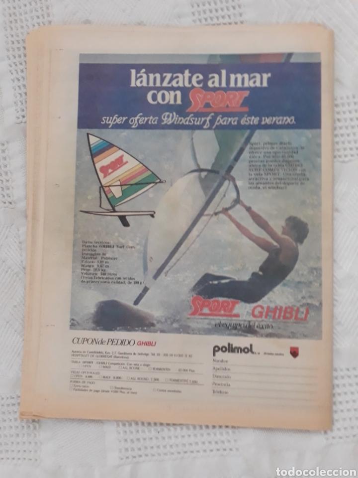 Coleccionismo deportivo: DIARIO SPORT N°1652 .22 JUNIO 1984 . AT. MADRID 2 BARCA 1 OTRO ROBO .ESPAÑA DE FIESTA . EUROCOPA.84 - Foto 11 - 235674960