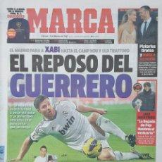 Coleccionismo deportivo: DIARIO MARCA - 15/02/2013 - AT.MADRID VS RUBIN KAZAN - LEVANTE VS OLYMPIAKOS. Lote 235681160
