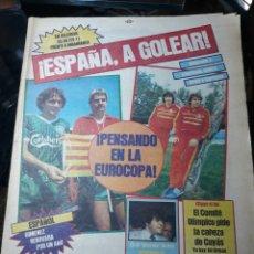 Coleccionismo deportivo: DIARIO SPORT N°1581.11 ABRIL 1984. ¡ESPAÑA, A GOLEAR!. ESPAÑA- DINAMARCA.PERE CASACUBERTA ENTREVISTA. Lote 235699975