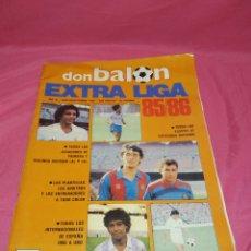 Coleccionismo deportivo: REVISTA DON BALON EXTRA LIGA 85/86. Lote 235833870