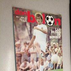 Colecionismo desportivo: DON BALÓN Nº 159 - OCTUBRE 1978. Lote 235889580