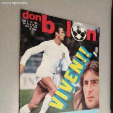 Collectionnisme sportif: DON BALÓN Nº 185 - ABRIL 1979 (PÓSTER REAL SOCIEDAD). Lote 235907995