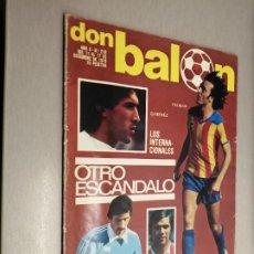 Colecionismo desportivo: DON BALÓN Nº 218 - DICIEMBRE 1979. Lote 235976910