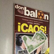 Coleccionismo deportivo: DON BALÓN Nº 224 - ENERO 1980. Lote 235983405