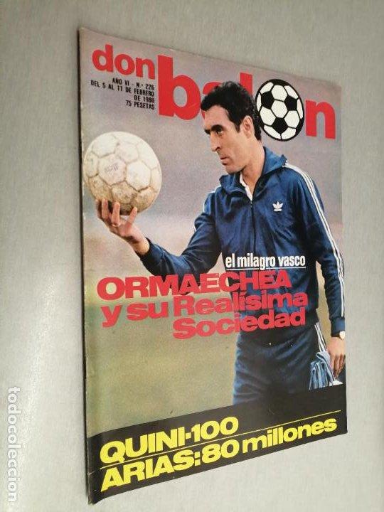DON BALÓN Nº 226 - FEBRERO 1980 (Coleccionismo Deportivo - Revistas y Periódicos - Don Balón)