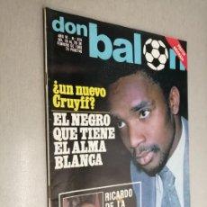 Coleccionismo deportivo: DON BALÓN Nº 228 - FEBRERO 1980 (PÓSTER ARCONADA). Lote 235983955