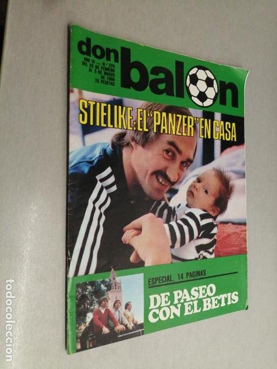 DON BALÓN Nº 229 - FEBRERO 1980 (PÓSTER REAL BETIS) (Coleccionismo Deportivo - Revistas y Periódicos - Don Balón)