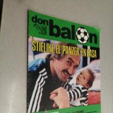 Coleccionismo deportivo: DON BALÓN Nº 229 - FEBRERO 1980 (PÓSTER REAL BETIS). Lote 235984360